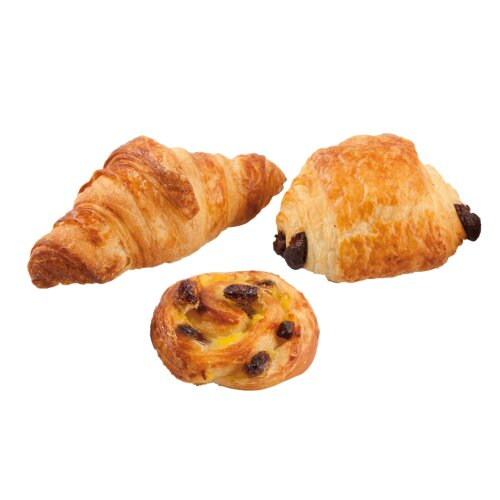 Bridor Frozen Mixed Viennoiseries Pastry Selection - 1x135