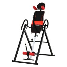 HOMCOM Gravity Adjustable Inversion Table Safety Treatment Pain Relief