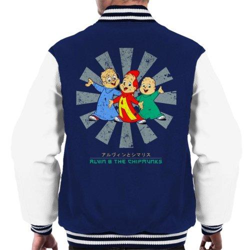 Alvin And The Chipmunks Retro Japanese Men's Varsity Jacket