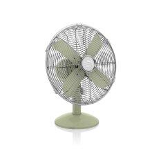 Swan Retro 12 Inch 35W Oscillating Desk Fan with Low Noise Function & 3 Speed Settings