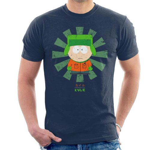South Park Kyle Retro Japanese Men's T-Shirt