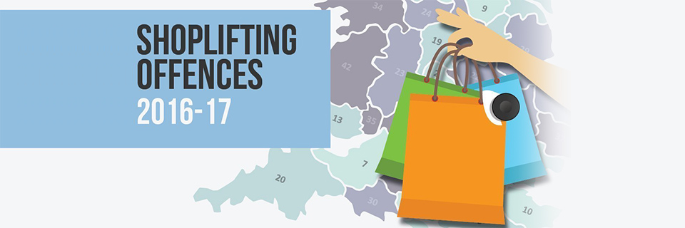 Shoplifting Offences in the UK 2016-2017