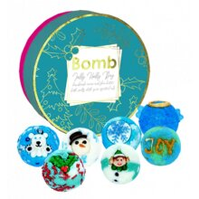 Bomb Cosmetic Handmade Christmas Style Bath Melts - Jolly Holly Day