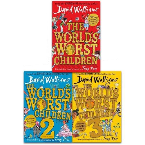 David Walliams World's Worst Children Series Collection 3 Books Set