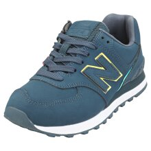 New Balance 574 -standard Width- Womens Casual Trainers in Navy - 4 UK