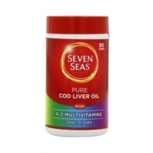 Seven Seas - Cod Liver Oil Plus Multivitamin Capsules