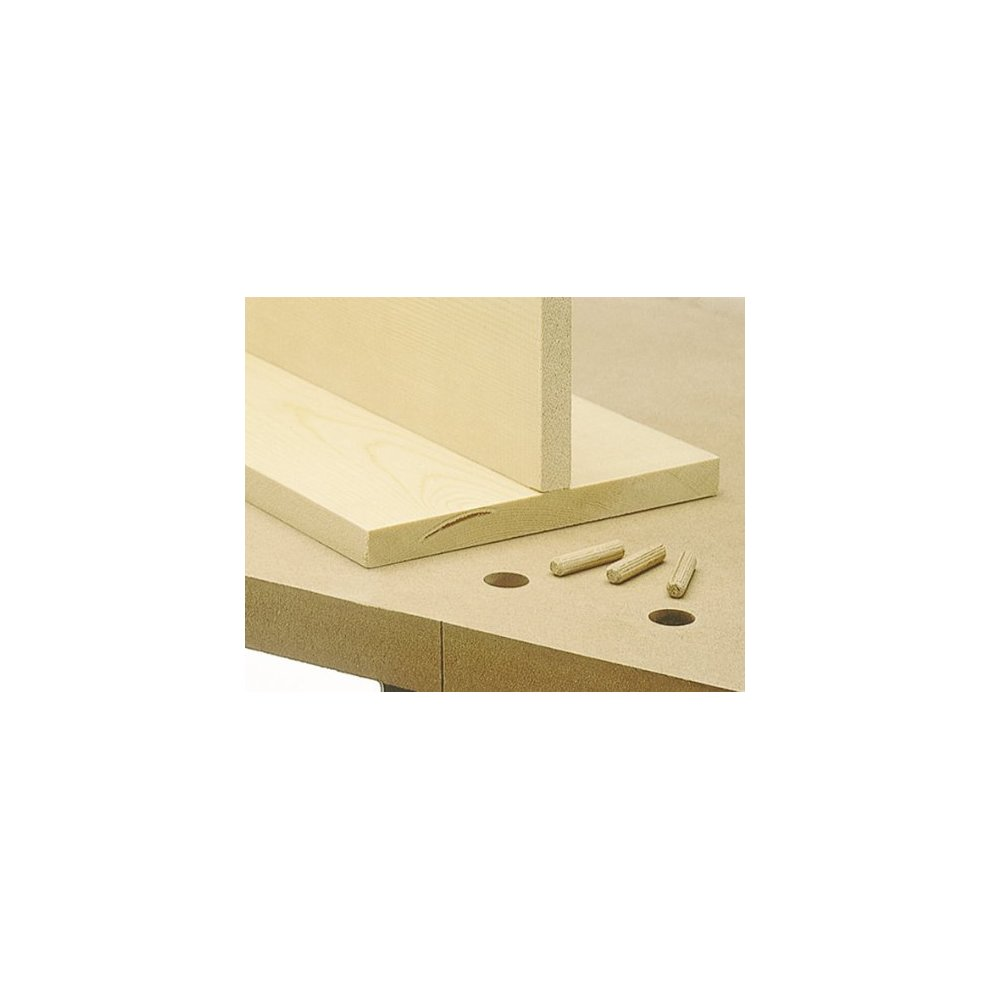 8 and 10 mm dowel pins Wolfcraft 4640000 Dowel Master 6