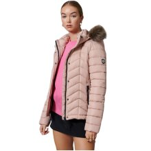 Superdry Luxe Fuji Padded Jacket Pink Blush