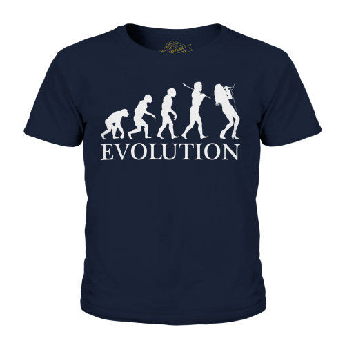 Candymix - Singer Evolution - Unisex Kid's T-Shirt