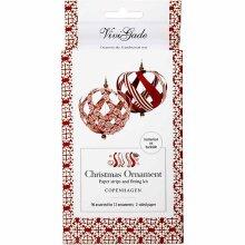 Christmas Decoration Kit make 12 Hanging Ornimanets