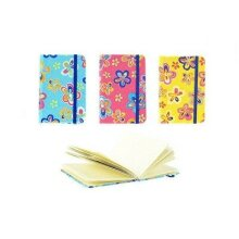 GIRLS A6 DIARY MEDIUM FLORAL DIARY TEXTURED GIRLS DIARY