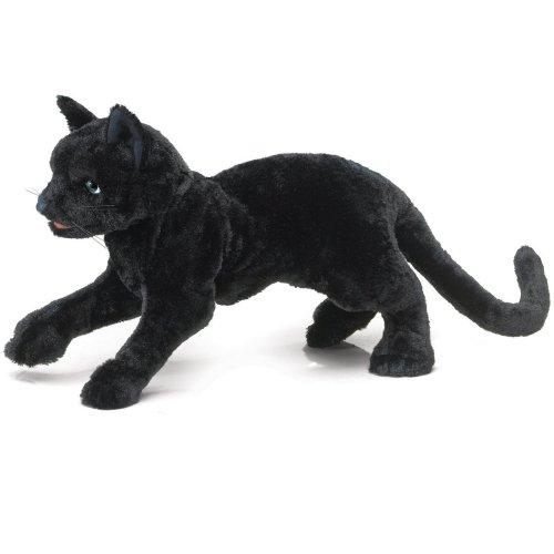 Folkmanis Cat Puppet (Black)