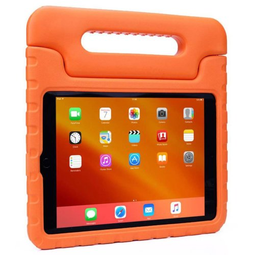 (Orange, iPad Air 3) Shockproof Protective Kids' Case With Handle For Apple iPad