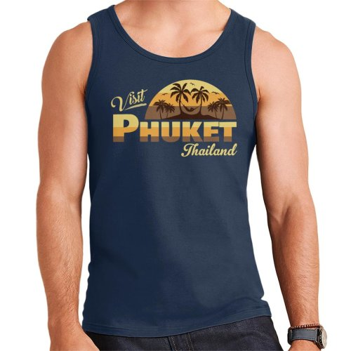 Visit Phuket Retro Beach Men's Vest