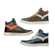 Diesel Mens High Top Sneaker Lace Up Leather Shoes