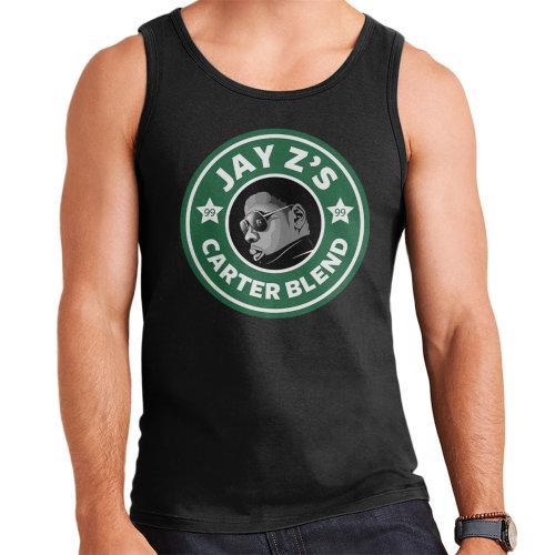 Jay Z Shawn Carters Blend Starbucks Logo Men's Vest