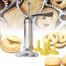 Cookie Extruder Press Machine Biscuit Maker Cake Making Decorating Set