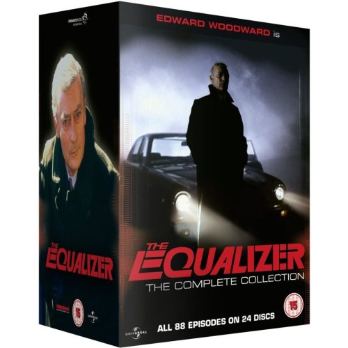 The Equalizer Seasons 1 to 4 Complete Collection DVD [2013]