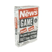The News Game True Or False Fake News Card Game Party Fun Test Flash Cards