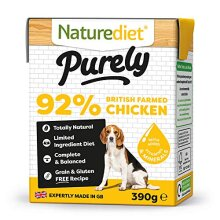 Naturediet Purely Chicken Complete Wet Food 390G x 18