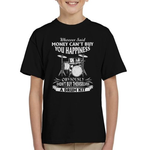 Happiness Is A Drum Kit Kid's T-Shirt