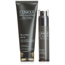 Clinique Skin Supplies For Men Gift Set 30ml Dark Spot Corrector + 100ml M Protect Lotion SPF21