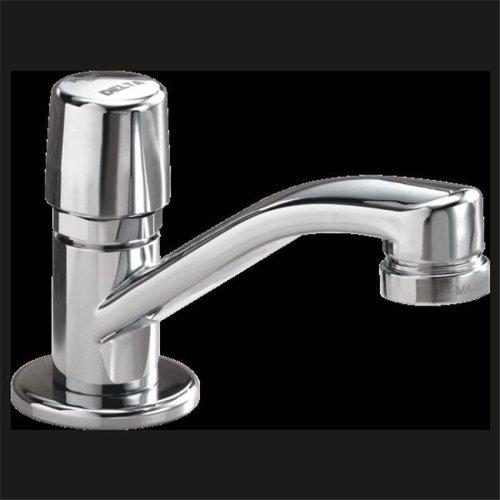 Single Handle Self-Closing Faucet