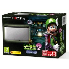 Nintendo 3DS XL Console - Silver with Pre-installed Luigi's Mansion 2 (UK)  (3DS) (New) - Used