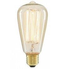 Vintage ST64 Tear Drop Industry Edison Filament Light Bulbs 60W E27