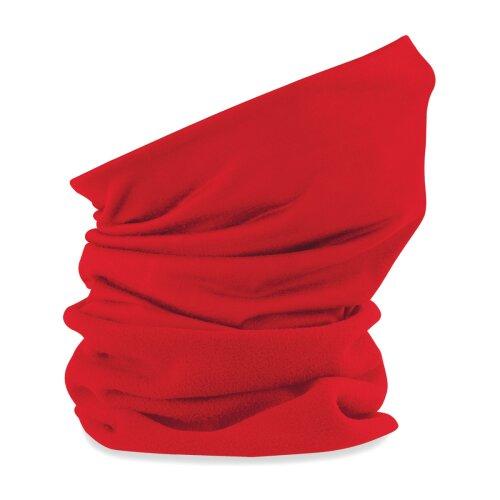 (Red) Beechfield Face Cover Morf Suprafleece Original Snood Scarf Neck Breathable Mask