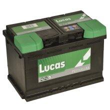LP096 LUCAS PREMIUM CAR BATTERY 12V 75AH