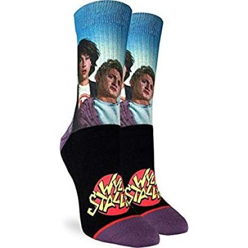 Socks - Good Luck Sock - Women's Active Fit - Bill & Ted's Wyld Stallyns (5-9) 5117