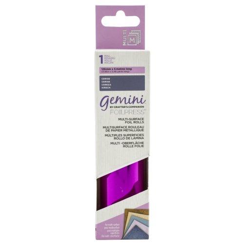Gemini Foilpress Multi Surface Foil Roll-Cerise