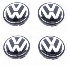 VW Car Wheel Centre Hub Caps 65mm 4 PCS For Golf Passat Polo