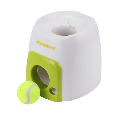 Interactive Automatic Pet Dog Treat Tennis Ball Toy Fetch