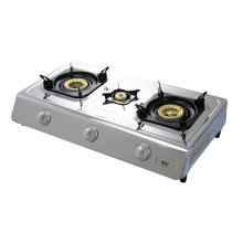 NJ NSD-3 Camping Gas Stove 3 Burners Indoor LPG