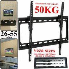 TV Wall Bracket Mount Tilt For 26 30 32 37 40 42 44 47 55 Inch Plasma