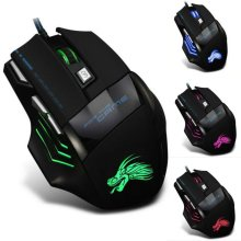 Led Optical Usb Wired Gaming Mouse 7 Button Gamer Laptop Computer Mice