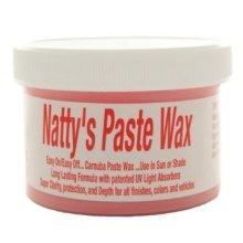 236ml 8oz Red Natty's Paste Wax - Poorboys Nattys Pbnpr08 -  poorboys nattys paste wax red pbnpr08