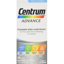 Centrum Advance Multivitamin Tablets, Pack of 100