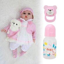 Lifelike Reborn Baby Dolls 22''  Vinyl Soft Silicone Newbor Gifts