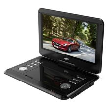 Bush 12 Inch Portable In - Car DVD Player - Black