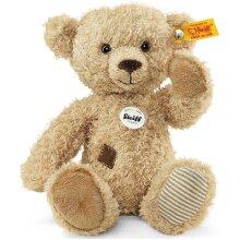 Theo Teddy Bear Plush Toy Beige Cuddly Soft Plush Hand Made New