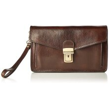 25x15x7 cm - Clutch Leather bag - Made in Italy