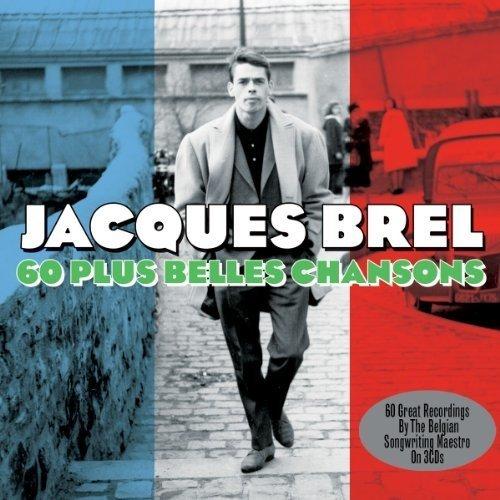 Brel  Jacques - 60 Plus Belles Chansons (3cd)