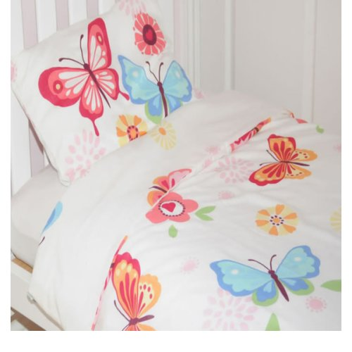 Butterflies, Toddler Bedding Set
