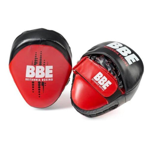BBE Club FX Curved Hook and Jab Boxing Pads Focus Sparring MMA Training
