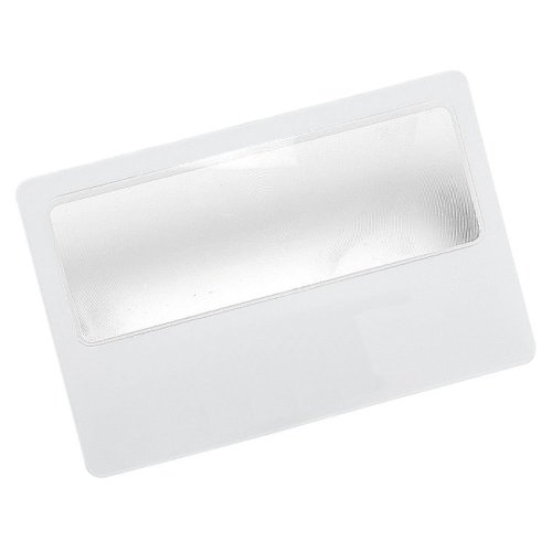Handy Pocket Credit Card Size Magnifying Card Slim Reading
