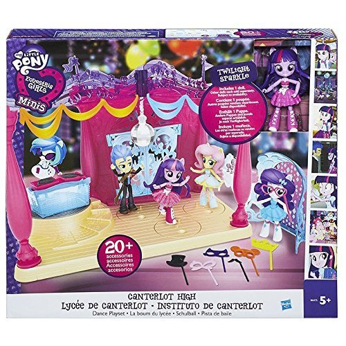My Little Pony Equestrian Girls Minis Canter Lot High Dance Playset with Doll