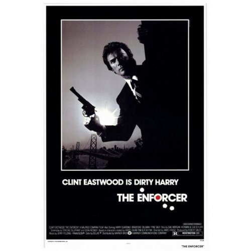 The Enforcer Movie Poster Print, 27 x 40